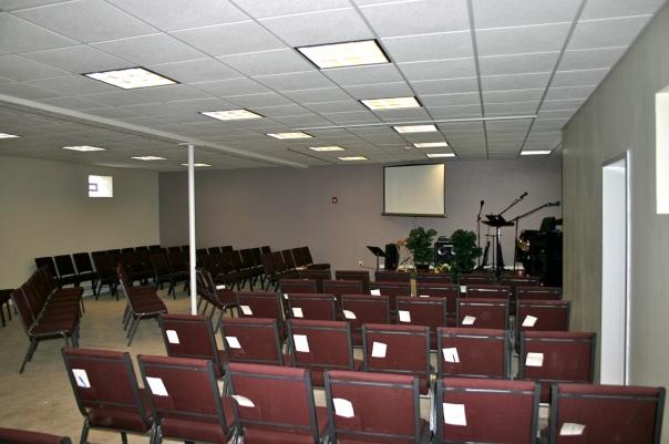 New Large Worship Center