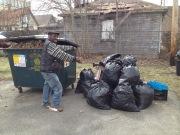 Trash, trash, and more trash
