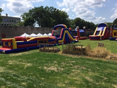 A Sunday afternoon celebration party was held for the congregation and neigborhood